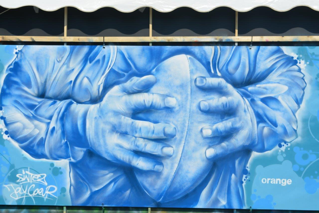 Teambuilding Graffiti chez Orange